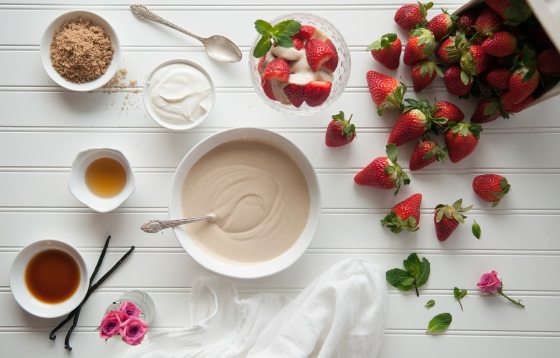 Zaycon Foods- strawberries and cream